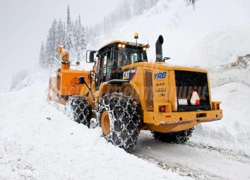 Вывоз снега, Уборка и погрузка снега